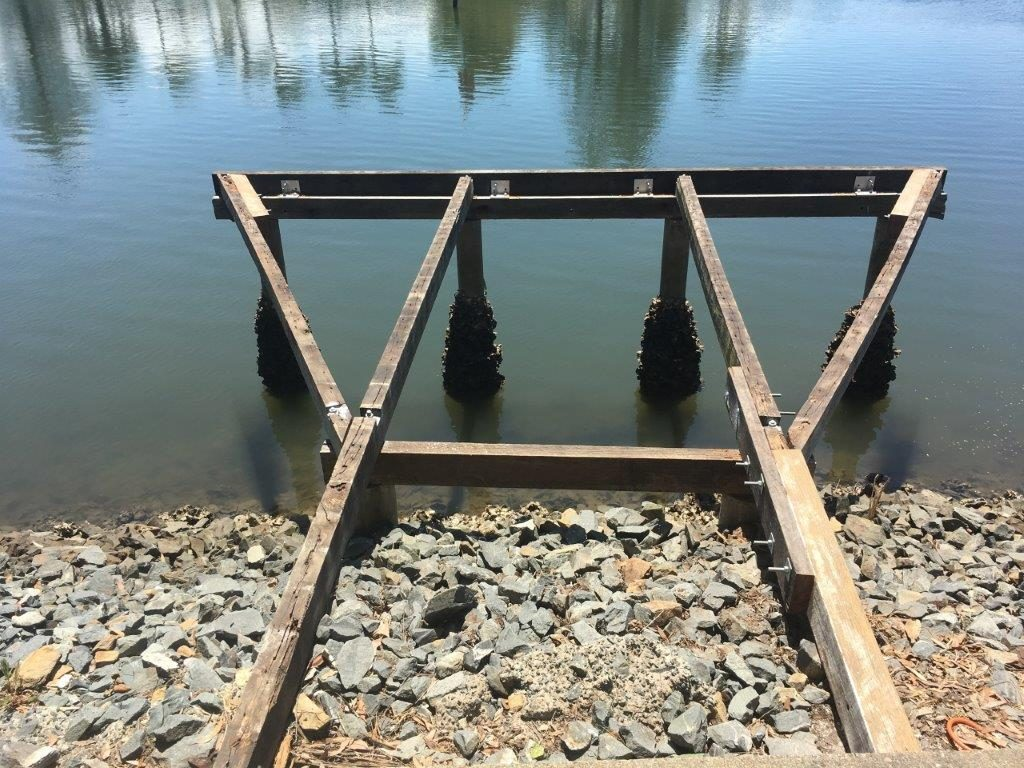 repair jetty QLD australia
