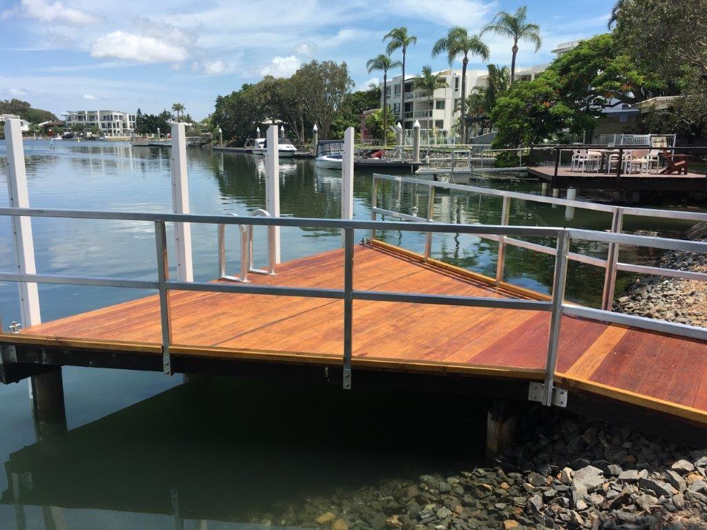 top repair jetty QLD