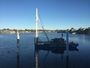 repair work jetty