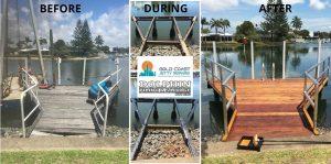 Jetty and pontoon maintenance